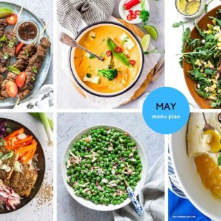 May 2020 Menu Plan