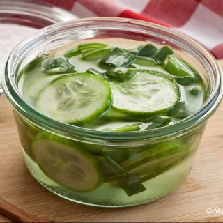 Quick Pickled Cucumbers
