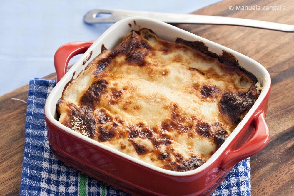 Sausage and Potato Sourdough Crespelle