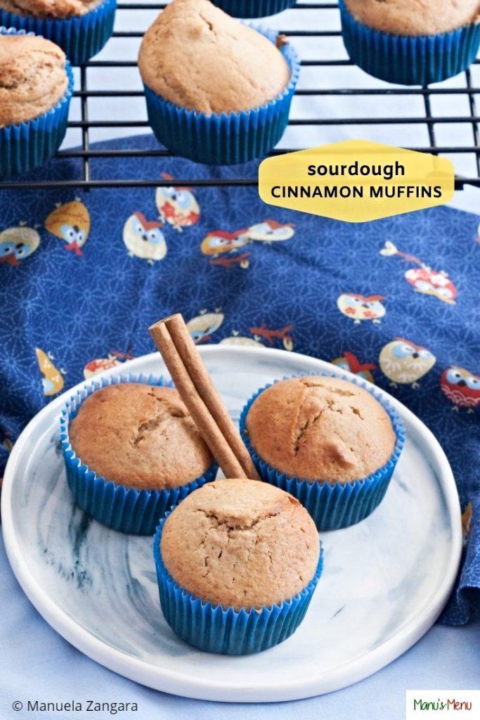 Sourdough Cinnamon Muffins